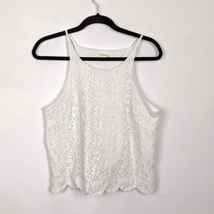 Monteau Lace Tank Top